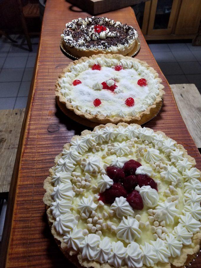 Tartas frutadas y clasicas